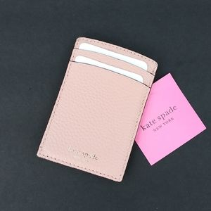 NWT KATE SPADE CARD HOLDER SLIM WALLET CASE